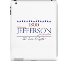 Jefferson for President- Election of 1800 iPad Case/Skin