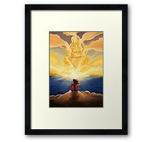 Visions of Knowledge Framed Print