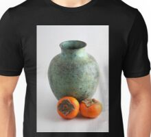 Persimmon with vase Unisex T-Shirt