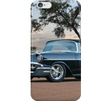 1957 Chevrolet Bel Air Convertible 1 iPhone Case/Skin