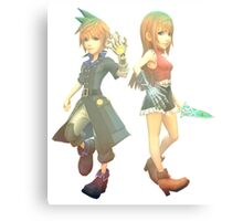 World Of Final Fantasy Canvas Print