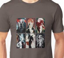 Elven Gods Pantheon Dragon Age Inquisition Tarot Cards Unisex T-Shirt