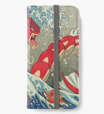 The Great Red Wave iPhone Wallet/Case/Skin