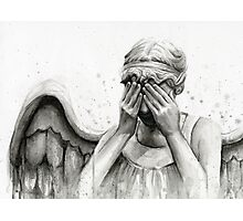 Doctor Who Weeping Angel - Don't Blink! Photographic Print