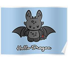 Hello Dragon Poster