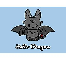Hello Dragon Photographic Print