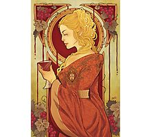 Wine and Blood Photographic Print