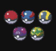 Frist Gen Pokeballs by Flaaffy