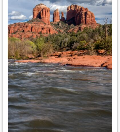 Cathedral Rock, Sedona Arizona Sticker