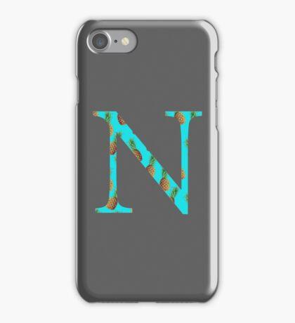 Nu Pineapple Letter iPhone Case/Skin