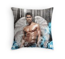 badboy ange Throw Pillow