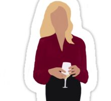 Gillian Anderson - TV Characters // Minimalist Sticker