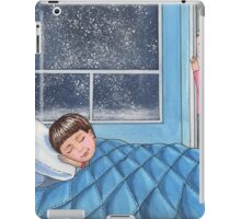 Sleeping Boy Baby Room Art iPad Case/Skin