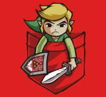 Pocket Link Legend of Zelda T-shirt Kids Clothes