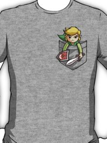Pocket Link Legend of Zelda T-shirt T-Shirt