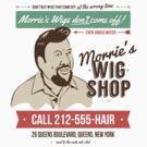 Morrie's Wig Shop by David Halford