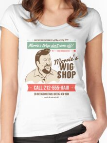 Morrie's Wig Shop Women's Fitted Scoop T-Shirt