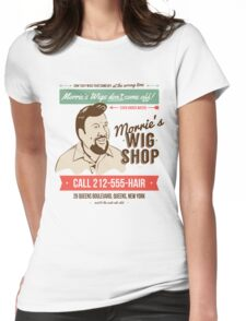 Morrie's Wig Shop Womens Fitted T-Shirt