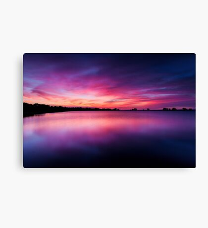 He is like the light of morning at sunrise Canvas Print