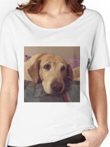 Gracie the Lab Retriever 2 Women's Relaxed Fit T-Shirt