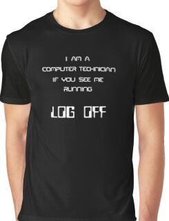 Computer Tech Graphic T-Shirt