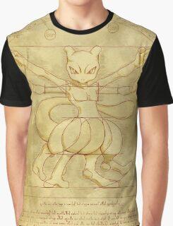 Vitruvian Monster Graphic T-Shirt