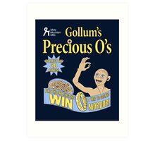 Gollum's Precious O's Art Print