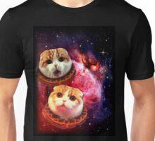 Waffles the Cat UFO  Unisex T-Shirt