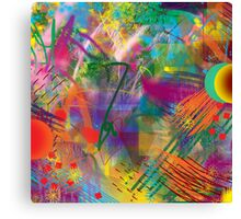 Every Brush Canvas Print