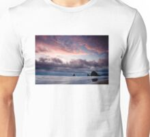 Cannon Beach Sunset Unisex T-Shirt