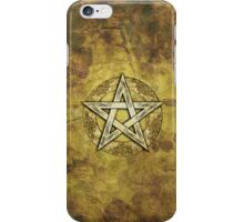 Ornate Pentacle, Pentagram iPhone Case/Skin