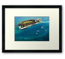 Dry Tortugas National Park, Fort Jefferson Framed Print