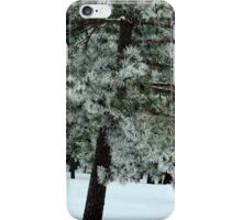 Frosted Pine dedicated to finding winter beauty iPhone Case/Skin