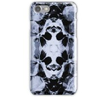 marble pansy iPhone Case/Skin