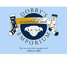 Dobby's Mismatched Sock Emporium Photographic Print