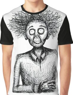Frazzled Zombie Graphic T-Shirt