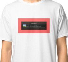 Minecraft  Select World Classic T-Shirt