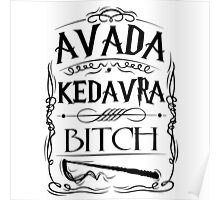 Avada Kedavra -  Harry Potter Poster
