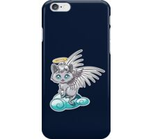 Angel Cat Chibi iPhone Case/Skin