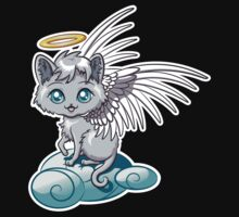 Angel Cat Chibi Kids Clothes
