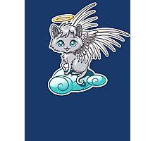 Angel Cat Chibi Photographic Print