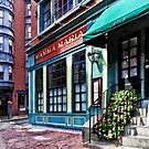 Boston MA - North End Restaurant by Susan Savad