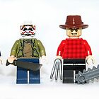 Lego Horror Killers by XxDeadmanzZ