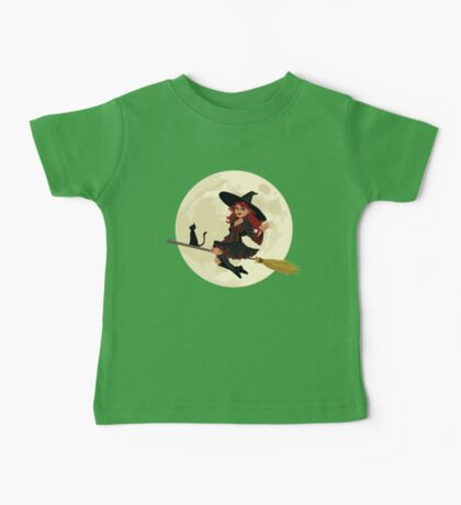 Red Witch Baby Tee