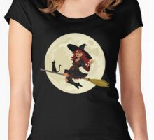 Red Witch Women's Fitted Scoop T-Shirt