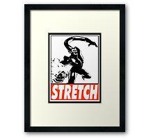 Super-Skrull Stretch Obey Design Framed Print