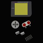 Video Game Boy Console iPad Case / iPhone 5 / iPhone 4 Case  / Samsung Galaxy Case  / Pillow / Duvet / Tote Bag / Prints / Mug by CroDesign