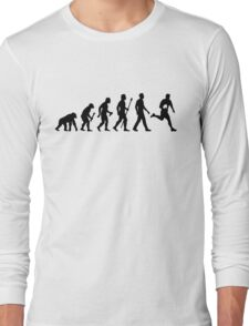 Evolution of Rugby  Long Sleeve T-Shirt