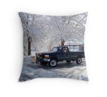 Snowshovel Pal    ^ Throw Pillow