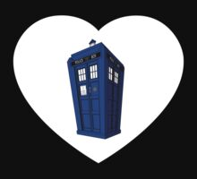 Police Box Heart Kids Clothes